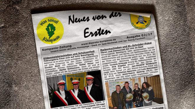 Kompaniezeitung Ausgabe 2/17