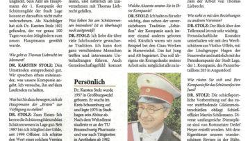 Pressebericht 100 Tage Hauptmann (LZ)
