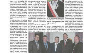 Pressebericht Dr. Stolz neuer Hauptmann (Postillon)