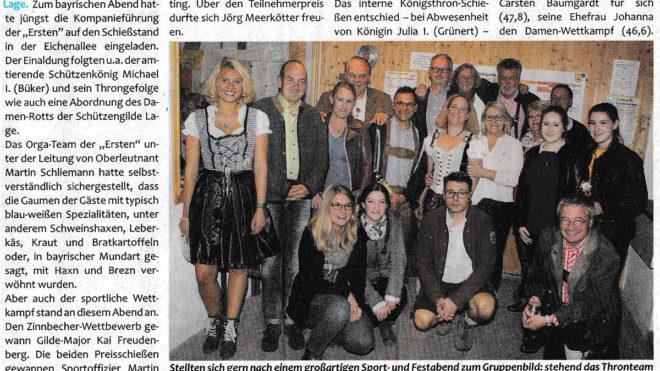 Pressebericht Bayerischer Abend 2017 (Postillon)