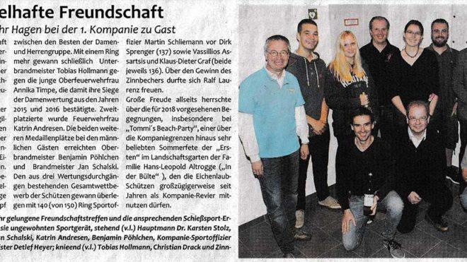 Pressebericht Feuerwehr Hagen 2017 (Postillon)