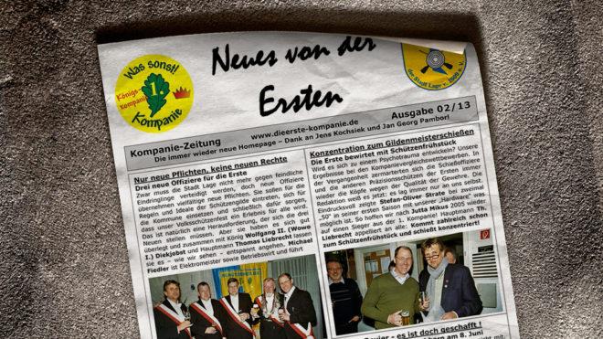 Kompaniezeitung Ausgabe 2/13