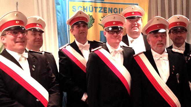Verpflichtung neuer Offiziere
