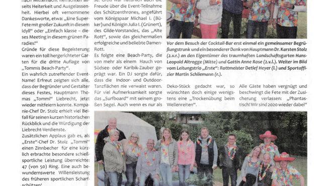 Pressebericht Beachparty 2018 (Postillon)
