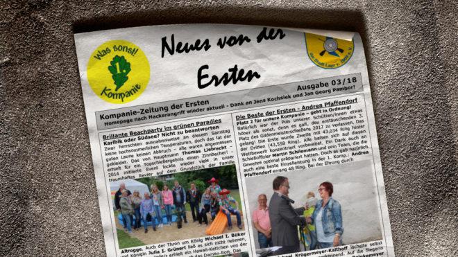 Kompaniezeitung Ausgabe 3/18