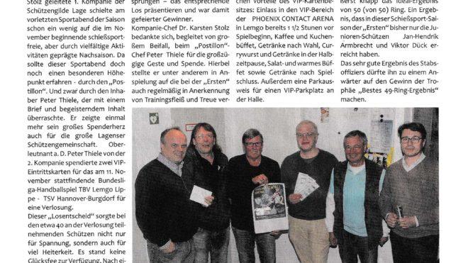 Pressebericht Postillon stiftet VIP-Karten (Postillon)