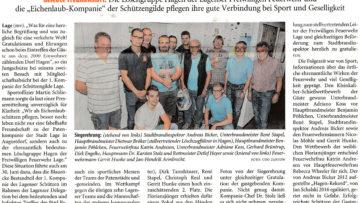 Pressebericht LZ Löschgruppe Hagen