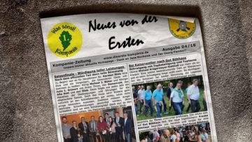 Kompaniezeitung Ausgabe 4/18