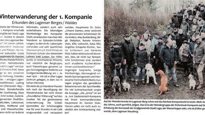 Pressebericht Postillon Winterwanderung 2019