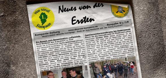 Kompaniezeitung Ausgabe 1/19