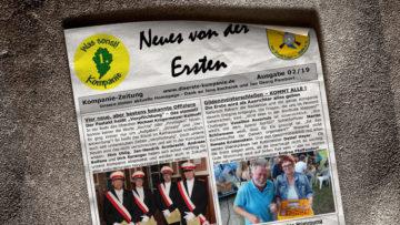 Kompaniezeitung Ausgabe 2/19