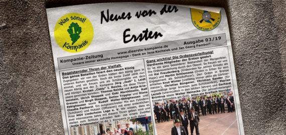 Kompaniezeitung Ausgabe 3/19