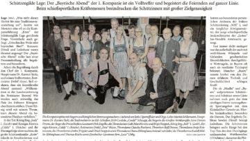Pressebericht LZ Bayerischer Abend 2020