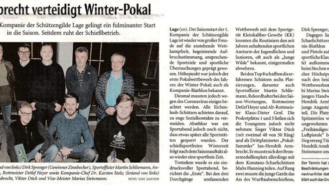 Pressebericht LZ Winterspiele 2020