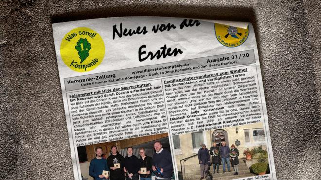 Kompaniezeitung Ausgabe 1/20