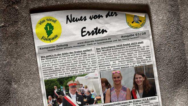 Kompaniezeitung Ausgabe 3/20