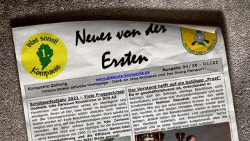 Kompaniezeitung Ausgabe 1/21