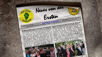 Kompaniezeitung Ausgabe 2/21 & 3/21